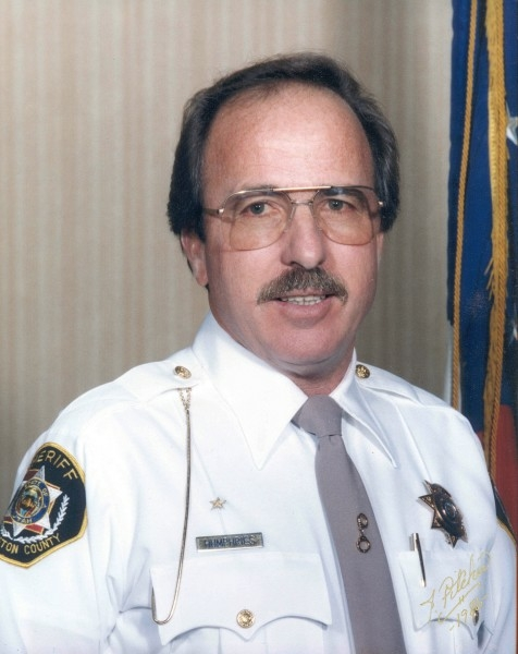Glenwood Humphries - Sheriff from 1987-1999